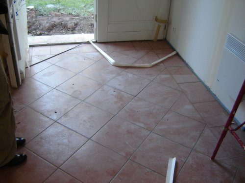 Travaux de carrelage for Carrelage entree