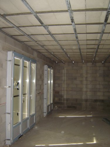 Cctp cloison doublage faux plafond merignac site de for Suspension faux plafond