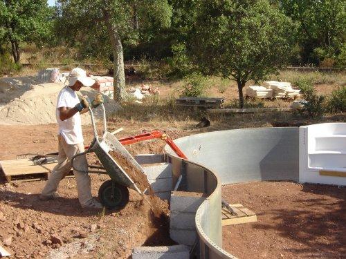 Funix page personnelle d 39 olivier hoarau for Combler une piscine