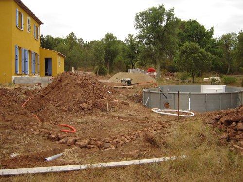 Construction De La Piscine Local Technique
