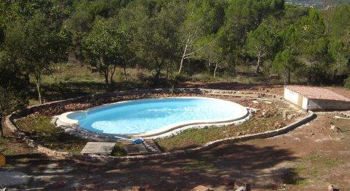 Muret de la piscine