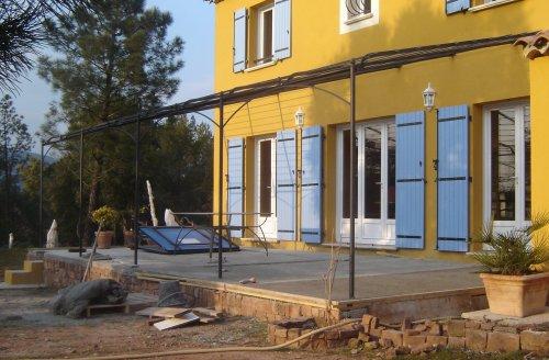Construction de la terrasse page 2 for Chape pour terrasse exterieure