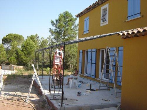 construction de la terrasse page 2. Black Bedroom Furniture Sets. Home Design Ideas