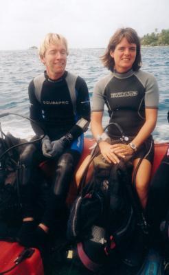 Yves Lefèvre et Véronique